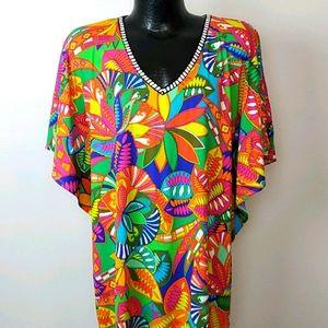 Trina Turk top blouse tunic women size S